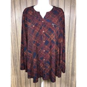 Susan Graver size XL long top